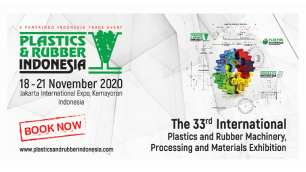 Plastics & Rubber Indonesia 2020:  The 33rd International Plastics & Rubber Machinery, Processing & Materials Exhibition