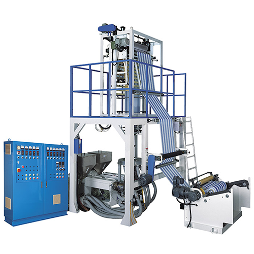 TWO-COLOR CO-EXTRUSION BLOWN FILM MACHINE