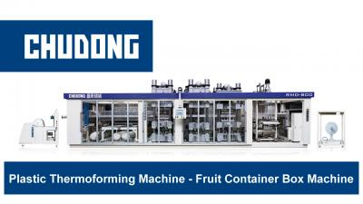 Plastic Thermoforming Machine - Fruit Container Box Machine | CHUDONG