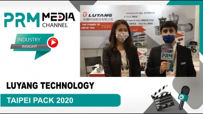 LUYANG | PRM Media Channel Interviews at TAIPEI PACK 2020